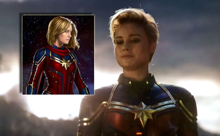 Avengers Endgame Concept Art Shows Captain Marvel S Suit With Sash Like Marvel Mentions In Its Comics Endgame after the time jump, and here's a close up look at her future suit and the rescue armor. avengers endgame concept art shows