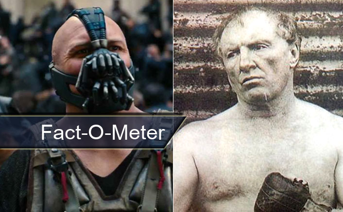 Fact O Meter Did You Know For The Dark Knight Rises Tom Hardy Was Inspired By The Accent Of Bartley Gorman