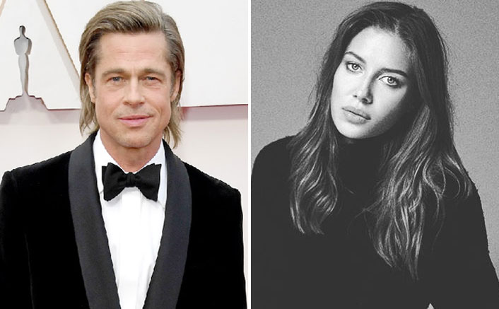 Brad Pitt S New Gf Nicole Poturalski Is In An Open Marriage Also Has A Son