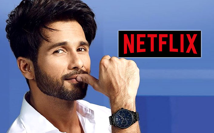 Shahid Kapoor Signs A Big Budget Action-Thriller Film With Netflix?