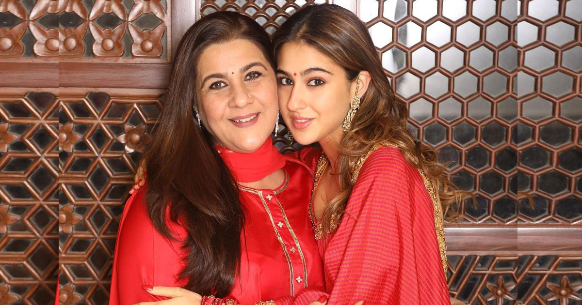 When Sara Ali Khan Said She'd Take Her Mother Amrita Singh Along After  Marriage!
