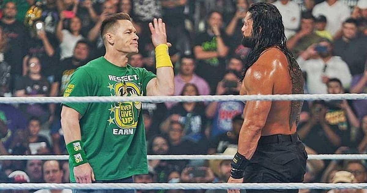 Video: John Cena And Roman Reigns Featured In A Match After WWE Smackdown 1