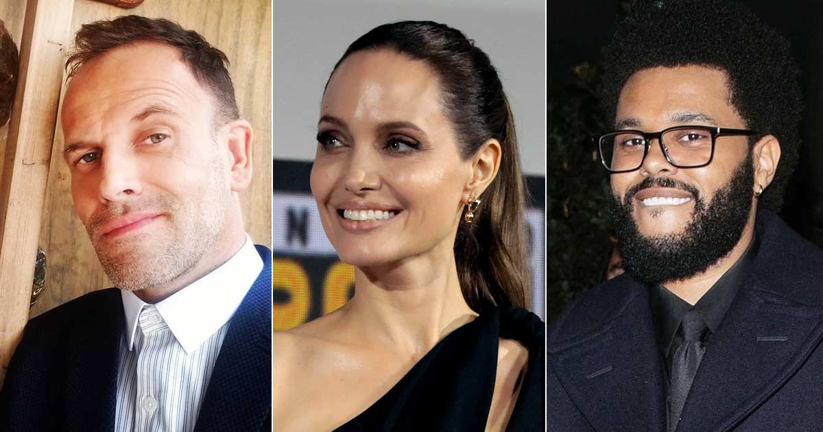 Angelina Jolie Seen With Her Ex Jonny Lee Miller Amidst Dating Rumours With The Weeknd